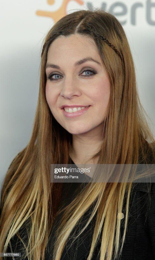 Singer Leire Marintez attends the 'La Noche de Cadena 100' photocall at Wizink Center on March 25, 2017 in Madrid, Spain.