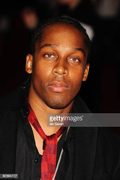 Singer Lemar ttends the 'This Is It' UK film premiere at the Odeon Leicester Square on October 27 2009 in London England