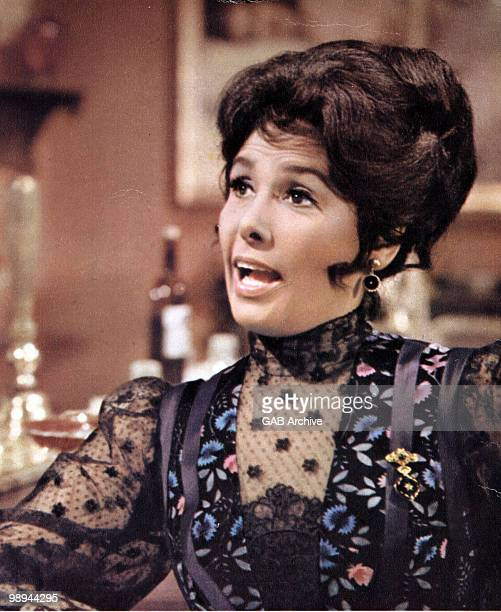 Singer Lena Horne in a still from the film 'Death of a Gunfighter' in 1969