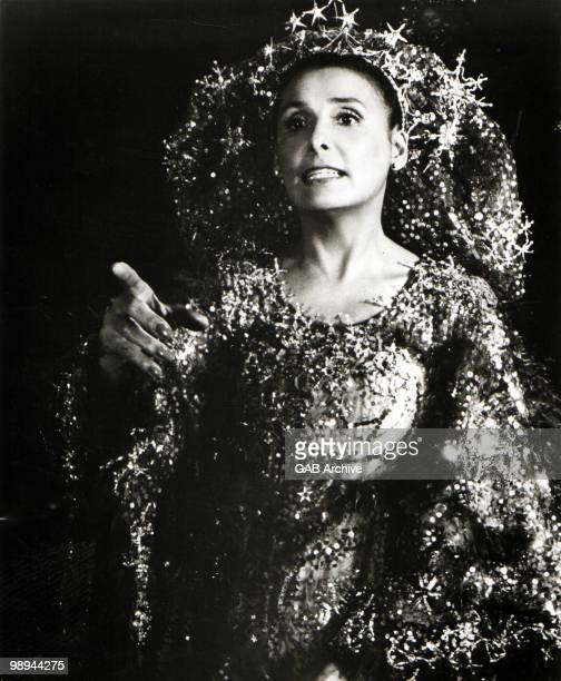 Singer Lena Horne in a still from the film 'The Wiz' in 1978