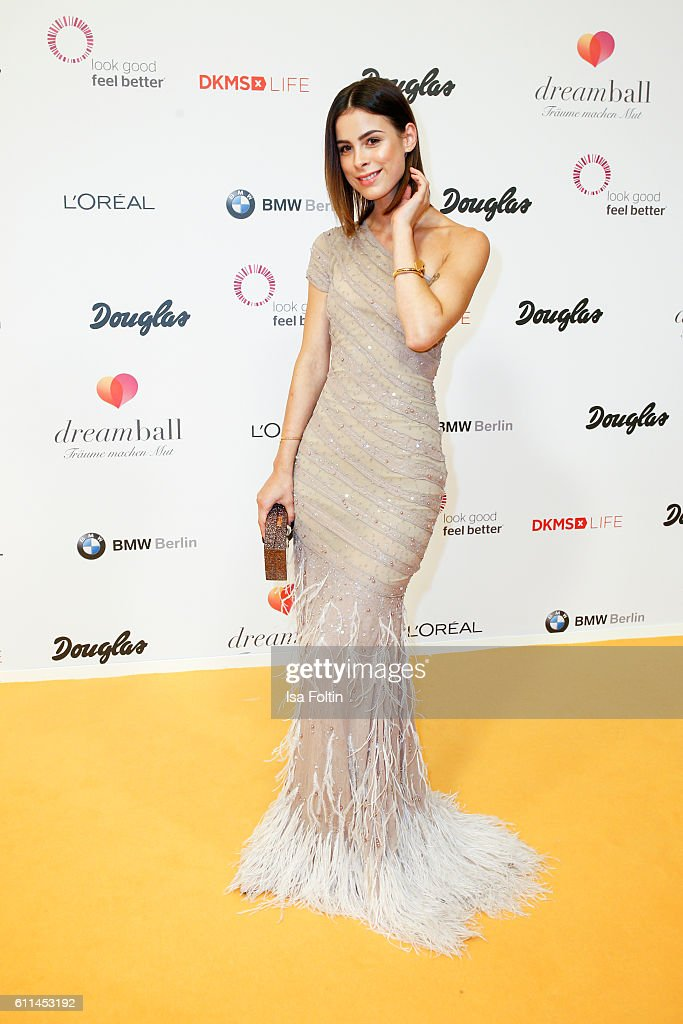 Singer Lena Meyer-Landrut attends the Dreamball 2016 at Ritz Carlton on September 29, 2016 in Berlin, Germany.