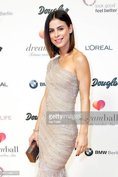 Singer Lena MeyerLandrut attends the Dreamball 2016 at Ritz Carlton on September 29 2016 in Berlin Germany