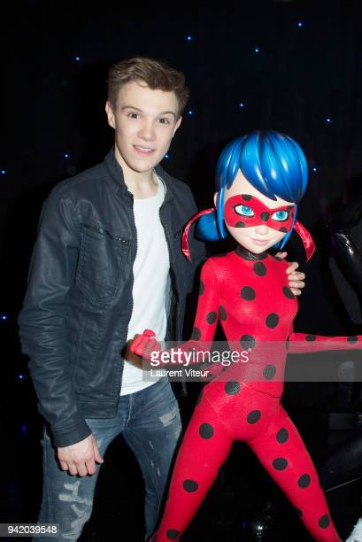 Singer LenniKim attends 'Miraculous Characters'Wax Wok Unveiling' at Musee Grevin on April 4 2018 in Paris France