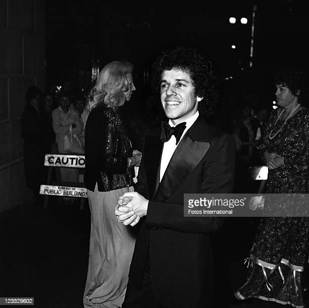 Singer Leo Sayer arrives at the Grammys where he won for 'Best Rhythm And Blues Song' for his song 'You Make Me Feel Like Dancing' at the 20th Annual...