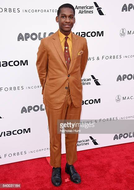 Singer Leon Bridges attends 11th Annual Apollo Theater Spring Gala at The Apollo Theater on June 13 2016 in New York City