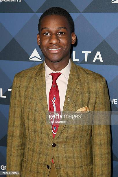 """Singer Leon Bridges attends Delta Air Lines Toasts GRAMMY Weekend with """"Sites and Sounds,"""" A Private Performance and Interactive Evening with GRAMMY..."""
