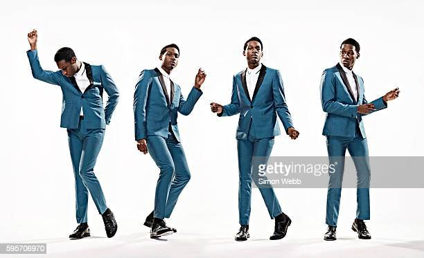 Singer Leon Bridges is photographed for GQ magazine on May 29, 2015 in London, England.