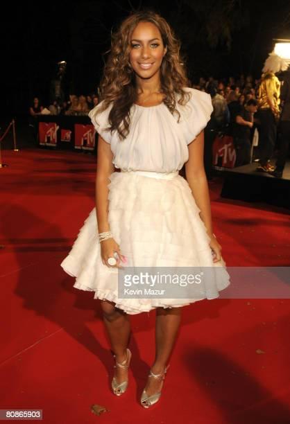Singer Leona Lewis arrives at the MTV Australia Awards 2008 at the Australian Technology Park Redfern on April 26 2008 in Sydney Australia This...