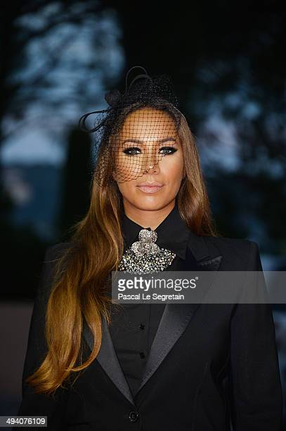 Singer Leona Lewis arrives the World Music Awards at Sporting MonteCarlo on May 27 2014 in MonteCarlo Monaco