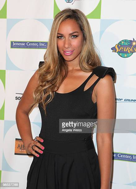 Singer Leona Lewis arrives to Jenesse Center's 30th Anniversary Silver Rose Weekend at the Beverly Hills Hotel on April 18 2010 in Beverly Hills...