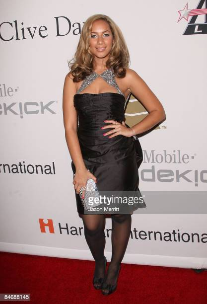 Singer Leona Lewis attends the 2009 GRAMMY Salute To Industry Icons honoring Clive Davis at the Beverly Hilton Hotel on February 7 2009 in Beverly...