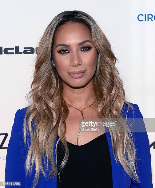 Singer Leona Lewis attends the fourth annual One Night for ONE DROP imagined by Cirque du Soleil a show that raises awareness and funds for critical...