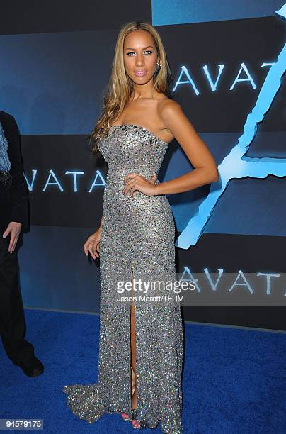 Singer Leona Lewis attends the Los Angeles premiere of Avatar at Grauman's Chinese Theatre on December 16 2009 in Hollywood California