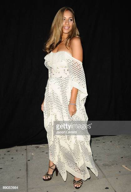 Singer Leona Lewis attends the one year anniversary of the 3.1 Phillip Lim store on July 15, 2009 in West Hollywood, California.