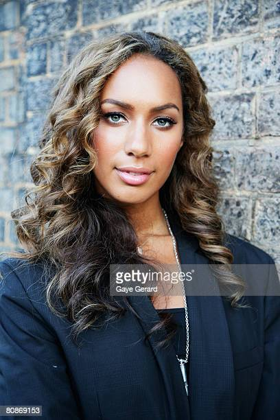 Singer Leona Lewis leaves the departure lounge for the red carpet at the MTV Australia Awards 2008 at the Australian Technology Park, Redfern on...