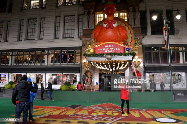Singer Leona Lewis performs during the 92nd Annual Macy's Thanksgiving Day Parade day two of rehearsals on November 20 2018 in New York City
