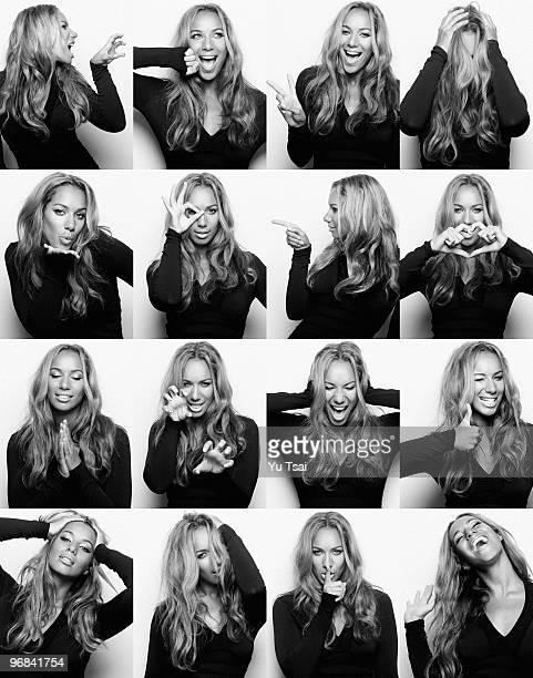 Singer Leona Lewis poses at a portrait session for Giant in Los Angeles CA on November 1 2006 Published Image