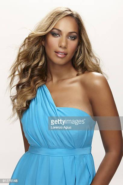 Singer Leona Lewis poses for a portrait shoot in Los Angeles on August 7 2009