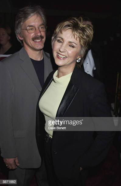 Singer Lesley Garratt with husband at the UK Neurofibromatosis Association 20th Anniversary Gala Concert held at the Theatre Royal on 12th May 2002...