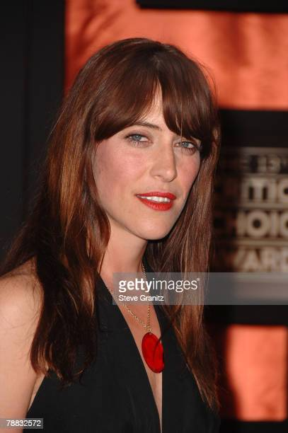 Singer Leslie Feist arrives at the 13th ANNUAL CRITICS' CHOICE AWARDS at the Santa Monica Civic Auditorium on January 7, 2008 in Santa Monica,...