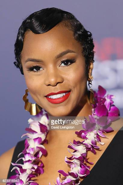 Singer LeToya Luckett arrives at the AFI FEST 2016 presented by Audi premiere of Disney's 'Moana' held at the El Capitan Theatre on November 14 2016...