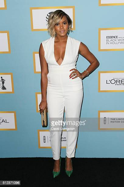 Singer LeToya Luckett arrives at the Essence 9th Annual Black Women event in Hollywood at the Beverly Wilshire Four Seasons Hotel on February 25 2016...