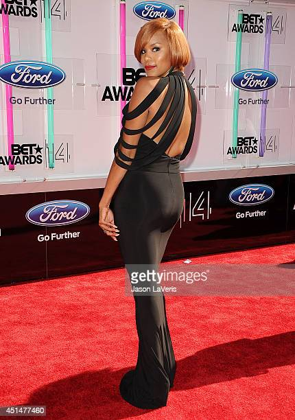 Singer LeToya Luckett attends the 2014 BET Awards at Nokia Plaza LA LIVE on June 29 2014 in Los Angeles California