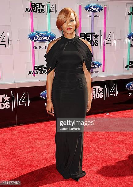 Singer LeToya Luckett attends the 2014 BET Awards at Nokia Plaza LA LIVE on June 29 2014 in Los Angeles California