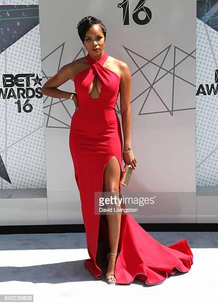 Singer LeToya Luckett attends the 2016 BET Awards at Microsoft Theater on June 26 2016 in Los Angeles California