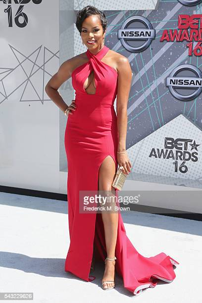 Singer LeToya Luckett attends the 2016 BET Awards at the Microsoft Theater on June 26 2016 in Los Angeles California