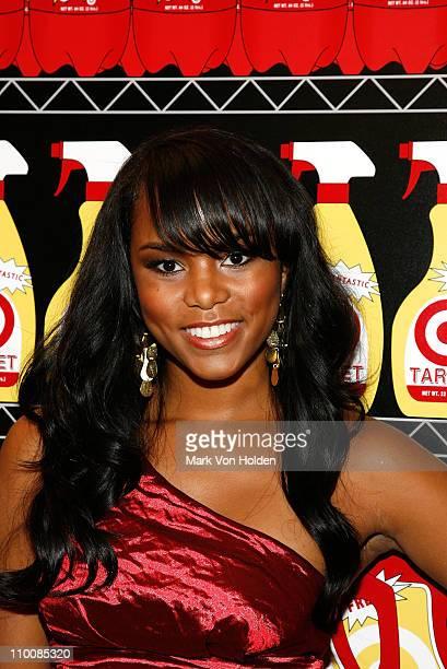 Singer LeToya Luckett attends the opening night party for the Target Bullseye Bodegas on September 10 2008 in New York City