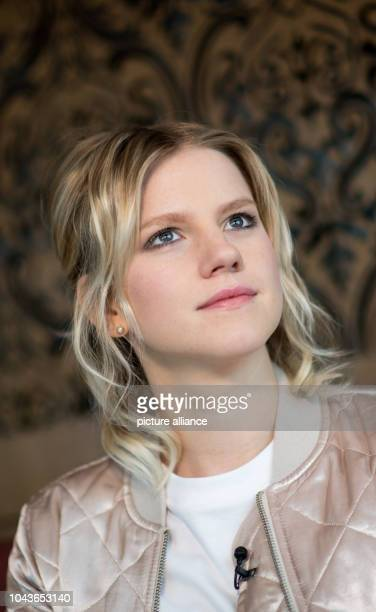 Singer Levina, the German contestant of the Eurovision Song Contest , photographed during an interview at a hotel in Kiev, Ukraine, 9 May 2017. The...