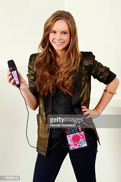 Singer Lexi St George Launches Paper Jamz Pro Jam Series Microphone on July 6 2011 in Hollywood California