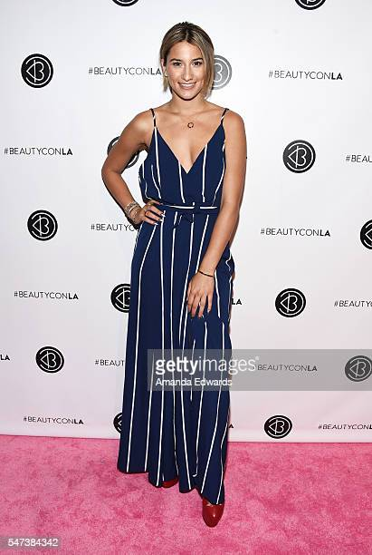 Singer Lexy Panterra arrives at the 4th Annual Beautycon Festival Los Angeles at the Los Angeles Convention Center on July 9 2016 in Los Angeles...