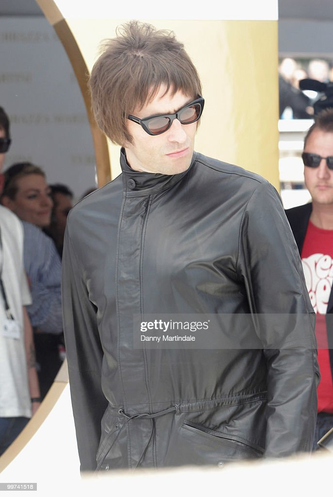 Singer Liam Gallagher is seen at the 63rd Cannes Film Festival on May 14, 2010 in Cannes, France.