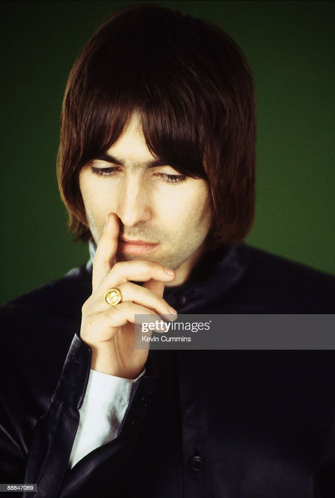 Singer Liam Gallagher of British rock band Oasis, Paris, 23rd February 2000.
