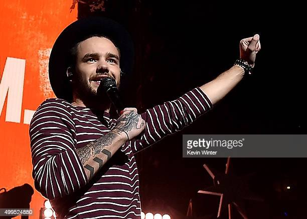 Singer Liam Payne of musical group One Direction performs onstage during 106.1 KISS FM's Jingle Ball 2015 presented by Capital One at American...