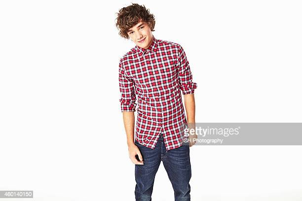 Singer Liam Payne of pop band One Direction is photographed on December 21 2010 in London England