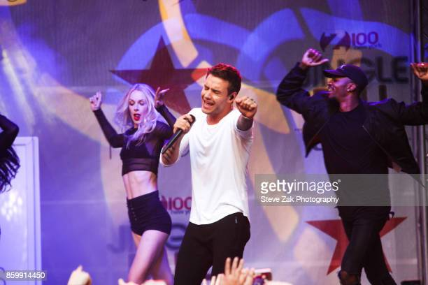 Singer Liam Payne performs at Z100's Jingle Ball 2017 Official KickOff Event at Macy's Herald Square on October 10 2017 in New York City
