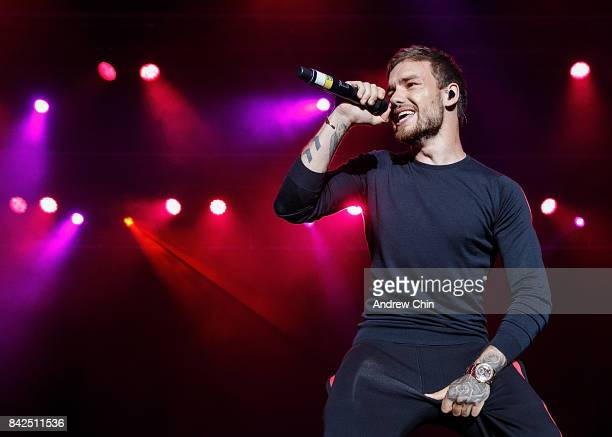 Singer Liam Payne performs on stage during day 1 of iHeartRadio Beach Ball at PNE Amphitheatre on September 3 2017 in Vancouver Canada