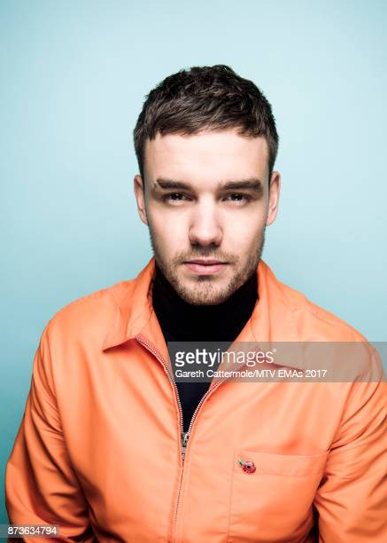 Singer Liam Payne poses in the Studio during the MTV EMAs 2017 held at The SSE Arena Wembley on November 12 2017 in London England