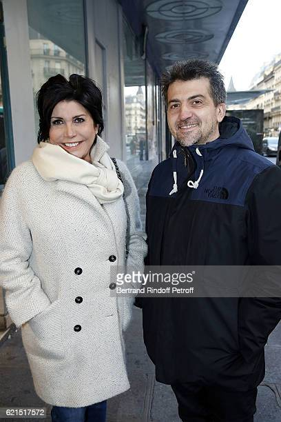 Singer Liane Foly and her brother Philippe Falliex attends 'Un Homme et Une Femme' screening for its 5Oth Anniversary at l'Arlequin on November 6...