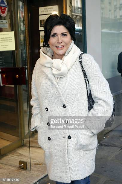 Singer Liane Foly attends 'Un Homme et Une Femme' screening for its 5Oth Anniversary at l'Arlequin on November 6 2016 in Paris France