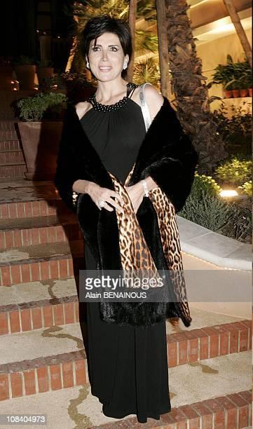 Singer Liane Foly in Monaco on October 07 2005