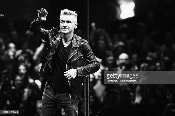 Singer Ligabue performs live at 'X Factor X' Tv Show on December 15 2016 in Milan Italy