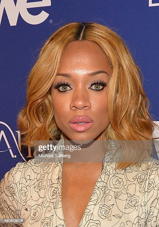 Singer Lil' Mama attends the premiere event for Season 3 of LA tv's 'L.A. Hair' show at Kimble Hair Studio and Extension Bar on May 21, 2014 in Los Angeles, California.