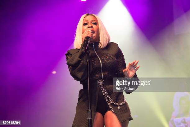 Singer Lil Mo performs for 18th Annual For Sisters Only at Walter E Washington Convention Center on November 4 2017 in Washington DC