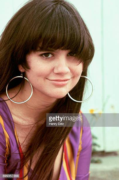 Singer Linda Ronstadt rests beside a fence She became a major singing star in the seventies with a mix of country and rock backed by The Eagles...