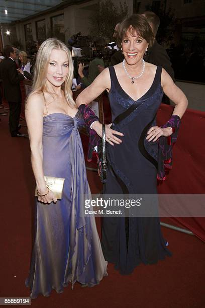 Singer Lindsay De Paul and Esther Rantzan attend the Galaxy British Book Awards at the Grosvenor House Hotel on April 3 2009 in London United Kingdom