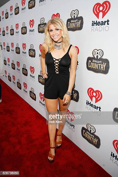 Singer Lindsay Ell attends the 2016 iHeartCountry Festival at The Frank Erwin Center on April 30 2016 in Austin Texas